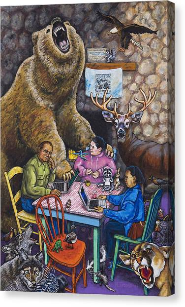 Canvas Print - Not Another Bear by Rich Travis