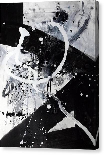 Not Just Black And White2 Canvas Print