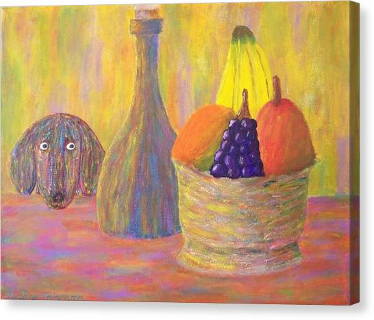 Not So Still Life Number One Canvas Print by Ricky Gagnon