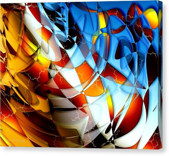 Notions Canvas Print by Dreamlight  Creations