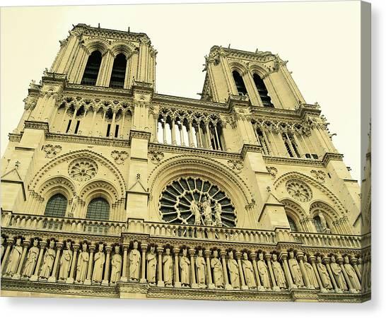 Notre Dame De Paris Canvas Print by JAMART Photography