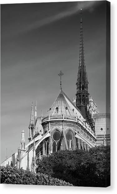 Notre Dame, Paris, France. Canvas Print