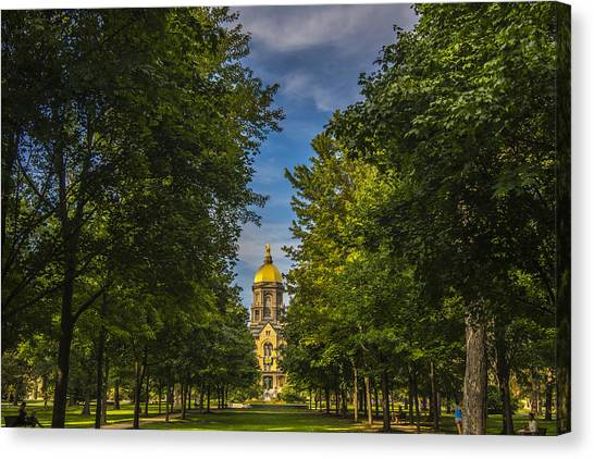 Notre Dame University 2 Canvas Print