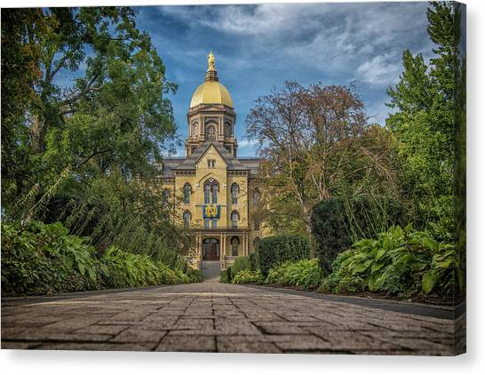 Notre Dame University Q1 Canvas Print