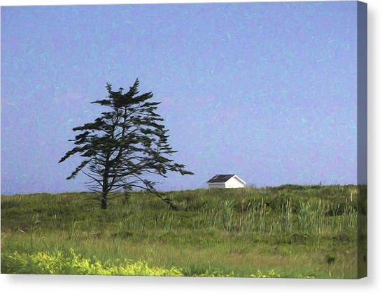 Nova Scotia Landscape Canvas Print