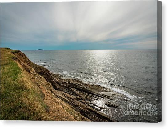 Cabot Trail Canvas Print - Nova Scotia by Zawhaus Photography