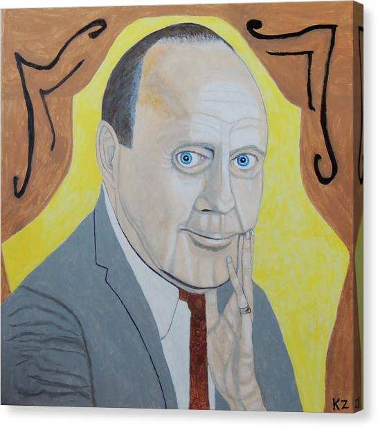 Now Cut That Out. Jack Benny. Canvas Print