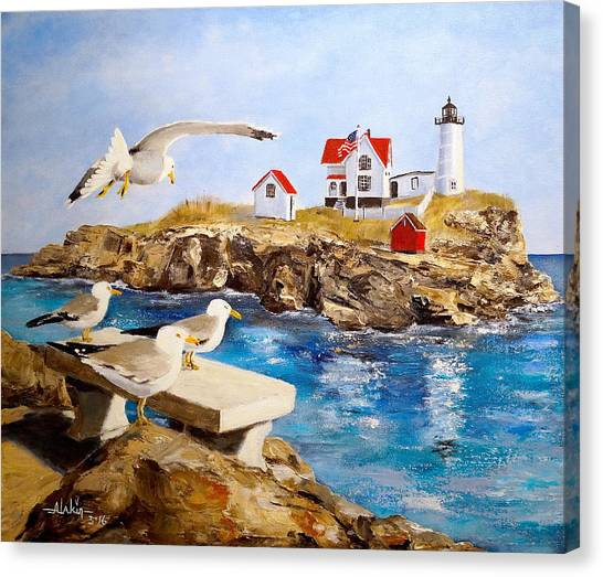 Nubble Light Canvas Print