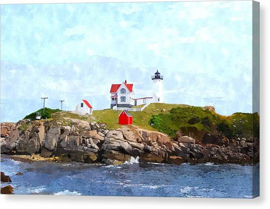 Nubble Light Nlwc Canvas Print