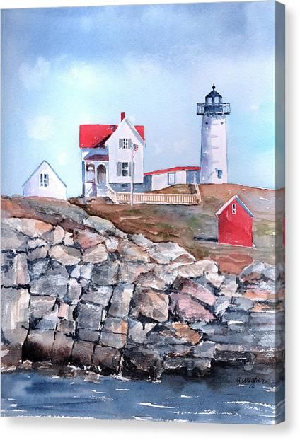 Nubble Lighthouse - Maine Canvas Print