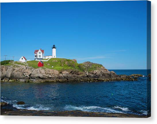 Nubble Lighthouse Canvas Print