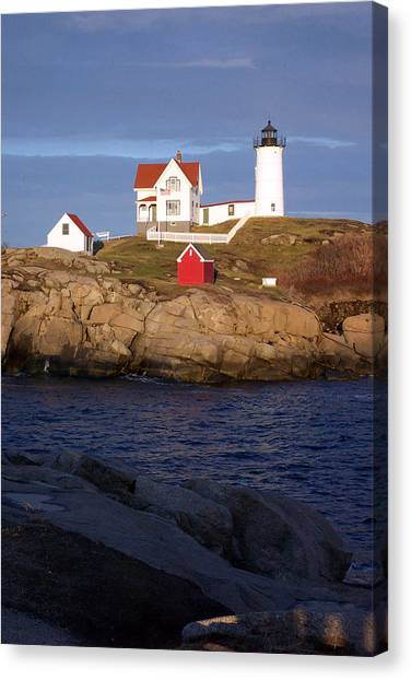 Nubble Lighthouse  Maine Canvas Print