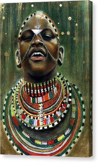 Nubian Dream Canvas Print
