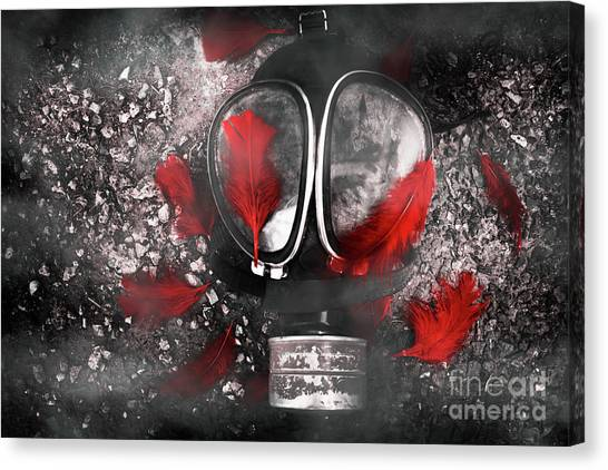 Bombs Canvas Print - Nuclear Smog by Jorgo Photography - Wall Art Gallery