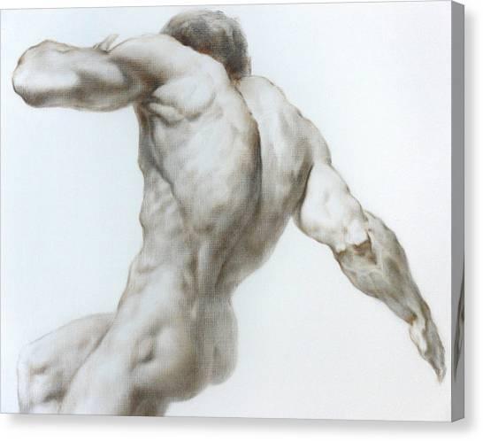 Mavlo Canvas Print - Nude 1a by Valeriy Mavlo