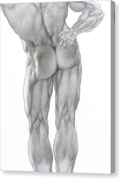 Nude 2b Canvas Print