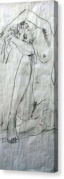 Nude 4749 Canvas Print