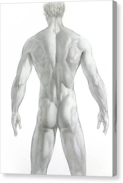 Nude 7 Canvas Print