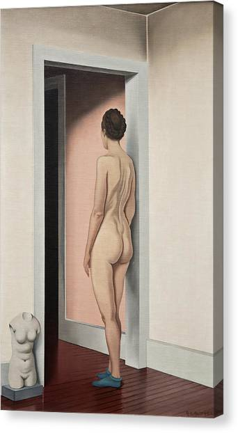 Precisionism Canvas Print - Nude And Torso by George Ault