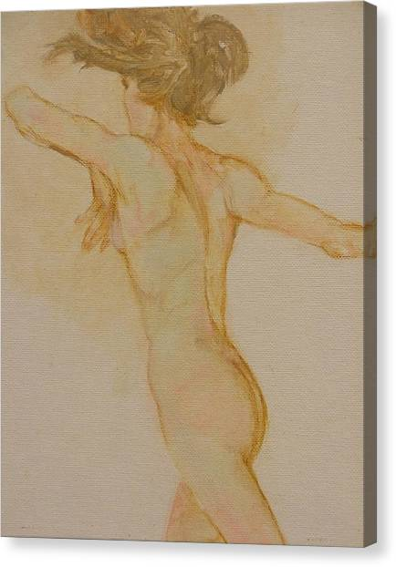 Nude Dancer Canvas Print by Gary Kaemmer