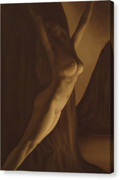 Nude Figure Canvas Print