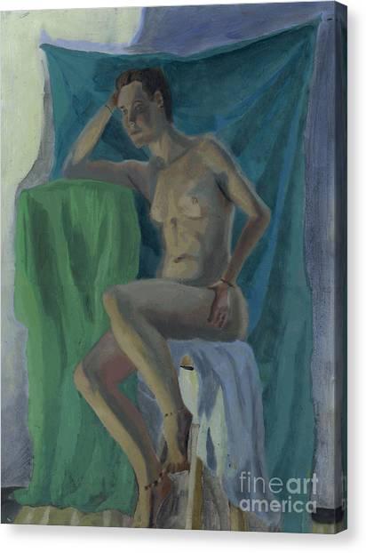 Nude  Canvas Print by Timothy Winiarski