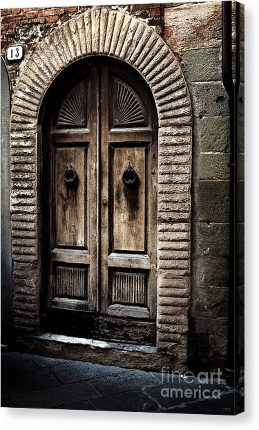 Number 13 Canvas Print