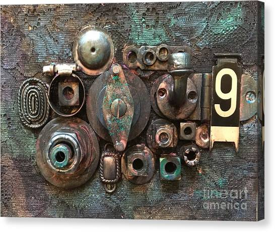 Number 9 Canvas Print