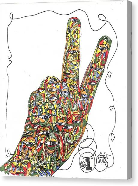 Number One Canvas Print