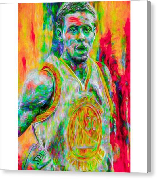 Basketball Canvas Print - Number Post 600. It's A Masterpiece by David Haskett II