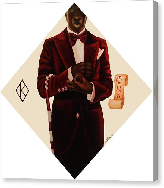 Kappa Alpha Psi Canvas Print - Nupe by Jerome White