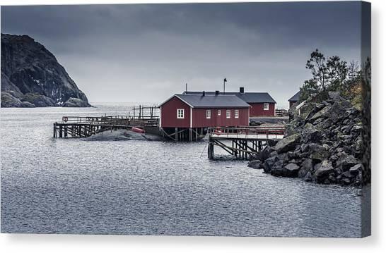 Nusfjord Rorbu Canvas Print
