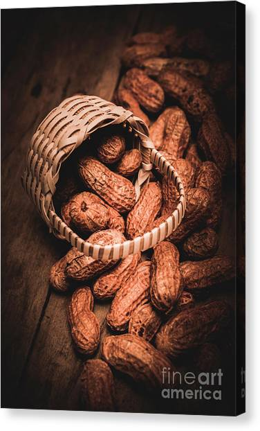 Nature Still Life Canvas Print - Nuts Still Life Food Photography by Jorgo Photography - Wall Art Gallery