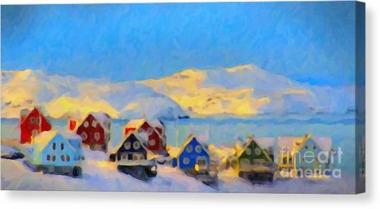 Nuuk, Greenland Canvas Print