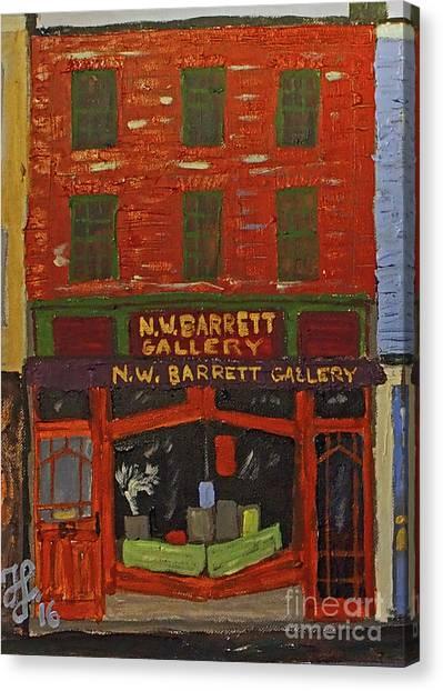 N.w.barrett Gallery Canvas Print