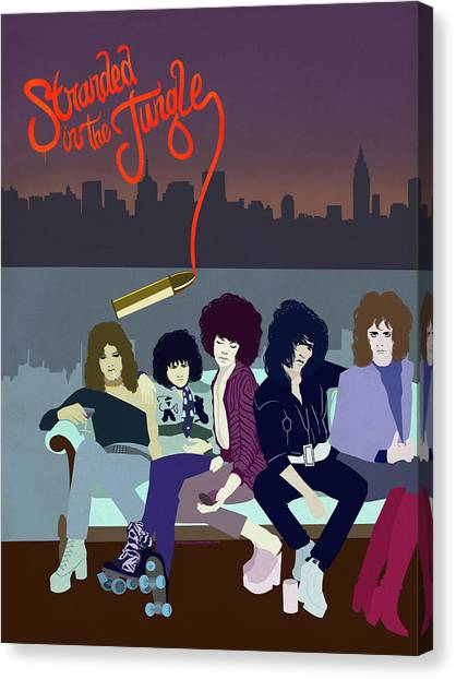 Ny Dolls Canvas Print