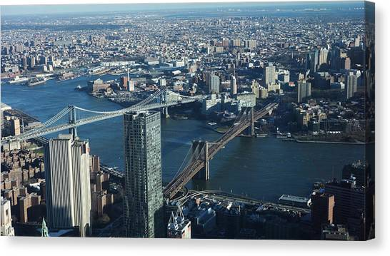 Nyc Bridges Canvas Print