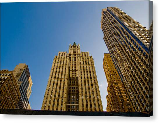 Nyc Buildings Canvas Print by Patrick  Flynn