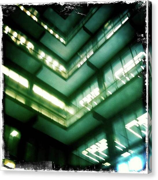 New York University Canvas Print - Nyu Library by Laura Kendall