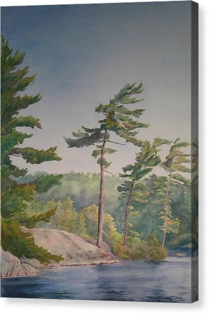 O Canada No.1 Canvas Print by Debbie Homewood
