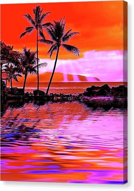 Oahu Island Canvas Print