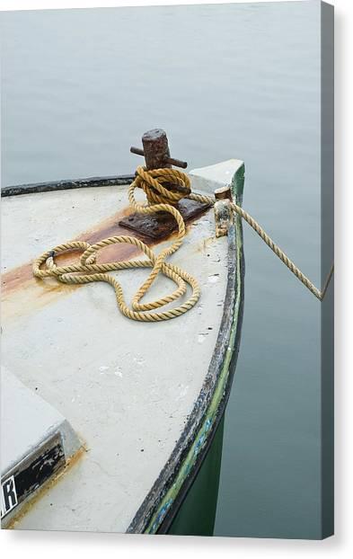 Oak Bluffs Fishing Boat Canvas Print