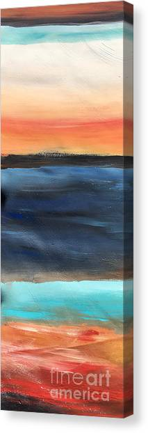 Oak Creek #31 Southwest Landscape Original Fine Art Acrylic On Canvas Canvas Print