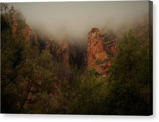Oak Creek Canyon Arizona Canvas Print