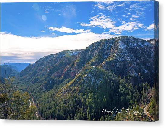 Oak Creek Vista Canvas Print