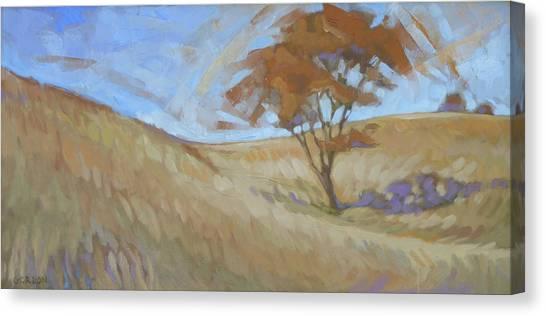 Canvas Print - Oak Savanna, Autumn by Kim Gordon