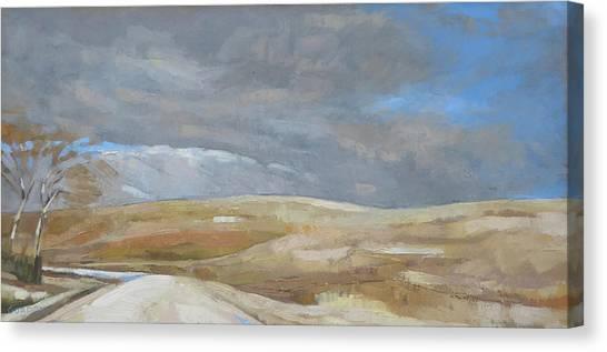 Canvas Print - Oak Savanna, Fall Storm by Kim Gordon
