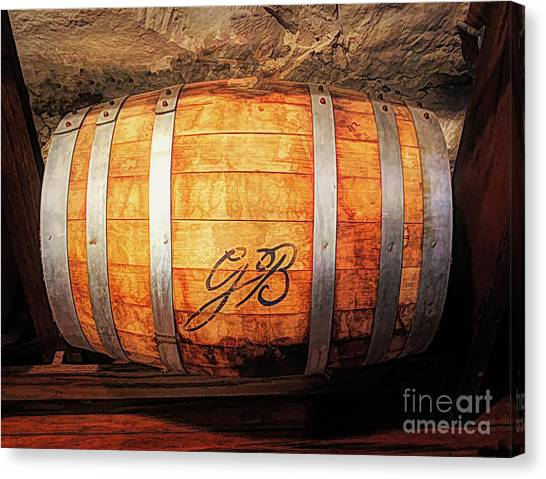 Sun Belt Canvas Print - Oaken Barrel  by Luther Fine Art