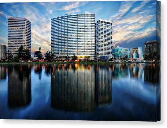 Oakland, California Cityscape Canvas Print