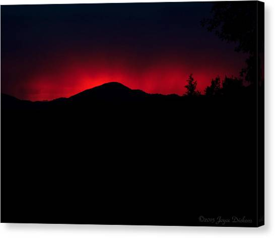 Oakrun Sunset 06 09 15 Canvas Print